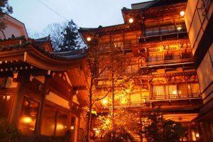 長野県の渋温泉(しぶおんせん)